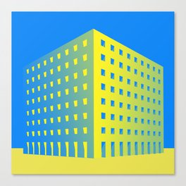 This is not a building Canvas Print
