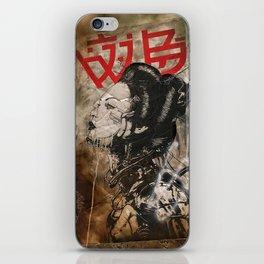 Cyber Geisha iPhone Skin