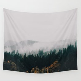 Forest Fog Wall Tapestry