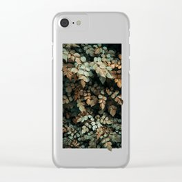 Growth (Autumn) Clear iPhone Case