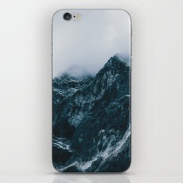 Cloud Mountain - Landscape Photography iPhone Skin