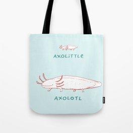 Axolittle Axolotl Tote Bag