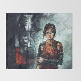 The Last of Us - Ellie Throw Blanket