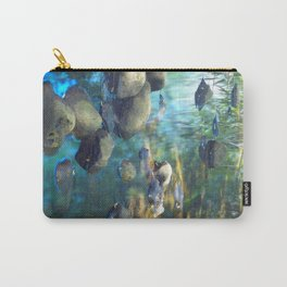 Stream of Tranquility Carry-All Pouch