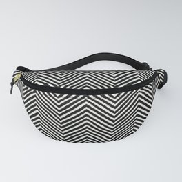 chevron painted Fanny Pack