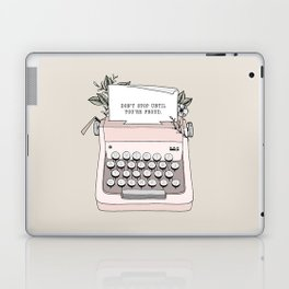 Don't Stop Laptop & iPad Skin