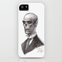Portrait of a Ghost iPhone Case