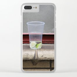 Hang over Clear iPhone Case