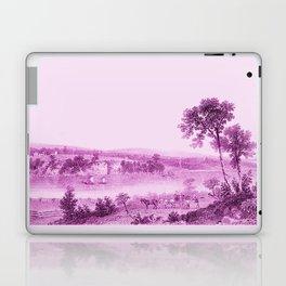 Lake Champlain & Fort Ticonderoga Ruins (wine) Laptop & iPad Skin