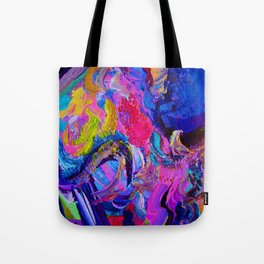 Abstract Viscosity Tote Bag