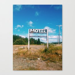 Motel 59 Canvas Print
