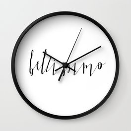 BELLISSIMO Wall Clock