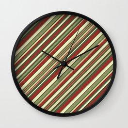 Just Stripes 4 Wall Clock