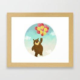 The Bear. Framed Art Print