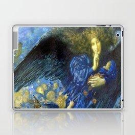 Night with her Train of Stars by Edward Robert Hughes Laptop & iPad Skin