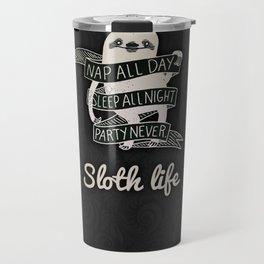 Sloth Life Travel Mug
