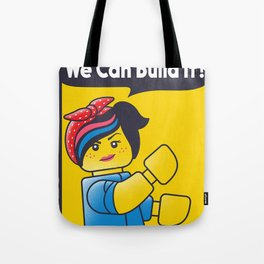 WE CAN BUILD IT Tote Bag