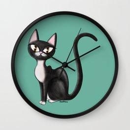 tux coot Wall Clock