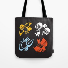 Hopi Four Directions - Tsiro (Bird) Tote Bag