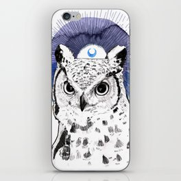 The Owl (Spirit Animal) iPhone Skin