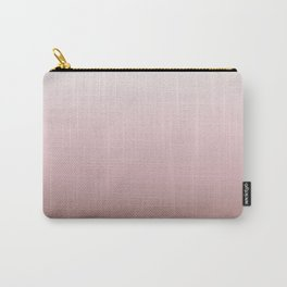 Dusky Pink Gradient Carry-All Pouch