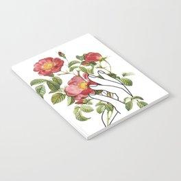 Flower in the Hand II Notebook