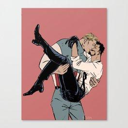 Stony Kiss Canvas Print