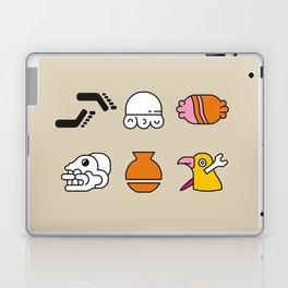 AZTEC~Nahuatl Glyphs Laptop & iPad Skin