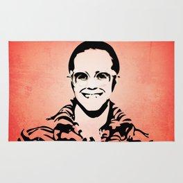 Elton  - Rocket Man - John - Pop Art Rug