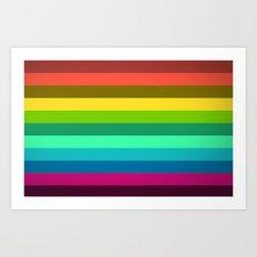 Colors LAB  Art Print
