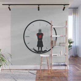 The Most Worthless Clock Wall Mural