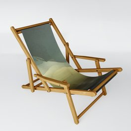 The ice that hides in the desert Sling Chair