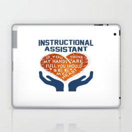 Instructional Assistant Laptop & iPad Skin