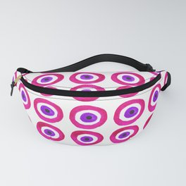 Evil Eye Amulet Talisman in Pink Fanny Pack