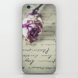 Love letter iPhone Skin
