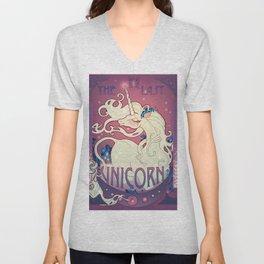 The Last Unicorn Unisex V-Neck