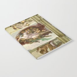 "Michelangelo ""Creation of Adam"" Notebook"