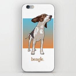 Beagle. iPhone Skin