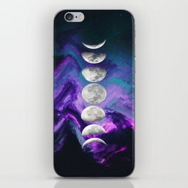 Hey Moon iPhone Skin