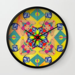 Inner Space 2 Wall Clock