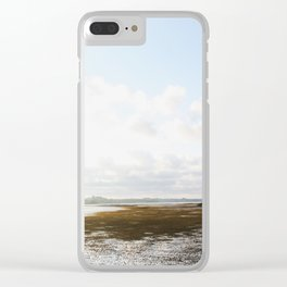 Low Tide at the Lighthouse Clear iPhone Case