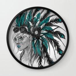 Steampunk Chief Wall Clock