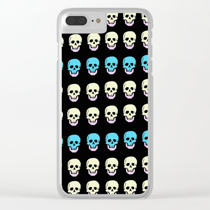 Catacombs Clear iPhone Case