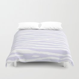 Lavender & White Animal Print Duvet Cover