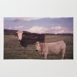 Two Cows Rug