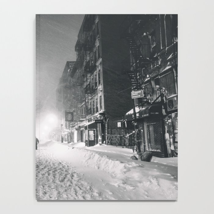Alone in a Blizzard - New York City Notebook