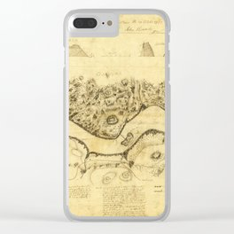Original West Point Survey Map October 24th-27th 1783 Clear iPhone Case