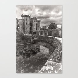 The Castle Moat Canvas Print