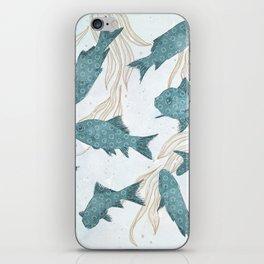 Bluefish iPhone Skin