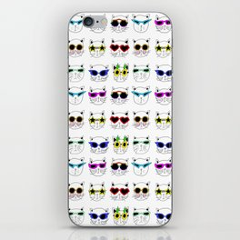 Cool Cats iPhone Skin